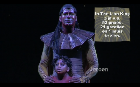"Musical The Lion King ""Jason Mercera as Little Simba"""
